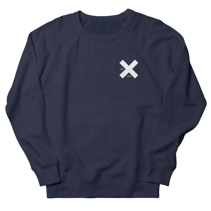 USE LESS X Men's French Terry Sweatshirt by Variable Tees
