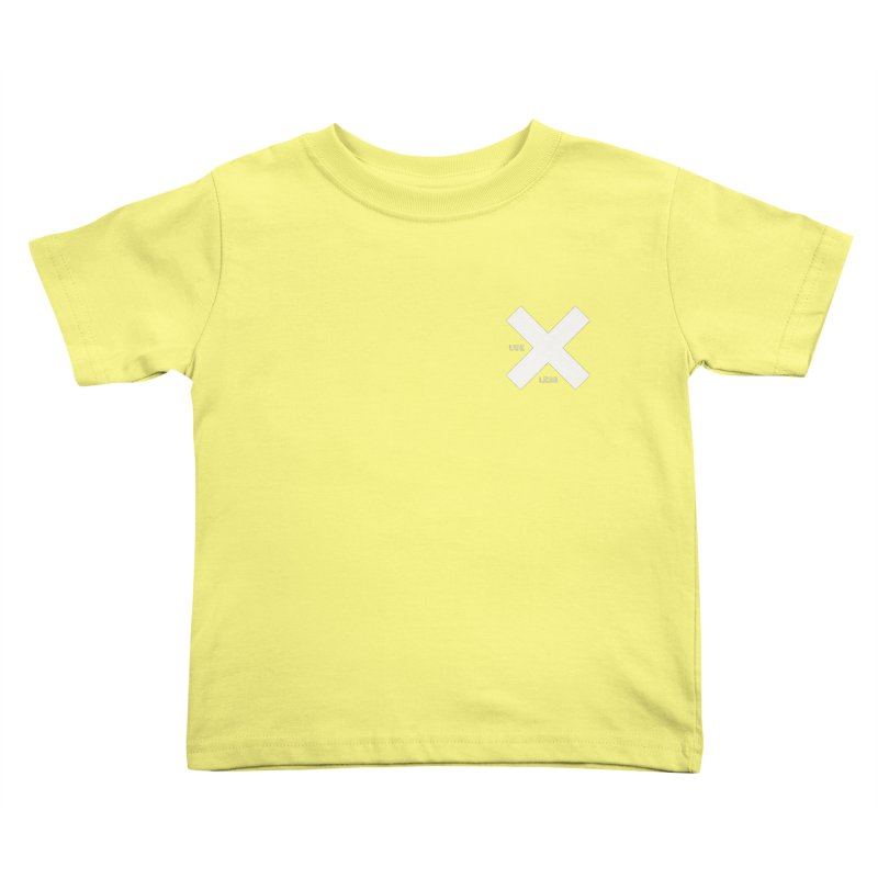 USE LESS X Kids Toddler T-Shirt by Variable Tees