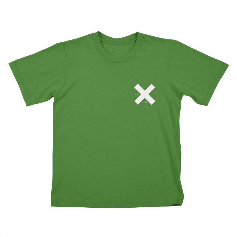 USE LESS X Kids T-shirt by Variable Tees