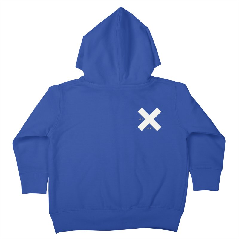 USE LESS X Kids Toddler Zip-Up Hoody by Variable Tees