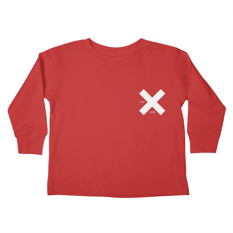 USE LESS X Kids Toddler Longsleeve T-Shirt by Variable Tees