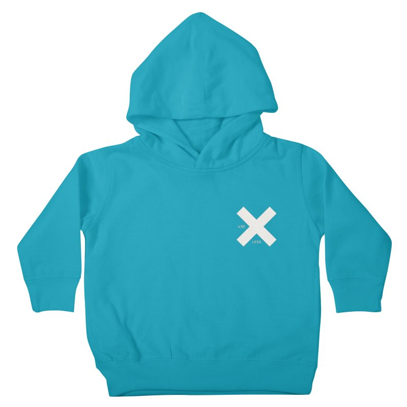 USE LESS X Kids Toddler Pullover Hoody by Variable Tees