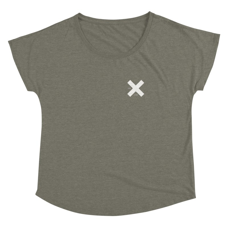 USE LESS X Women's Dolman Scoop Neck by Variable Tees
