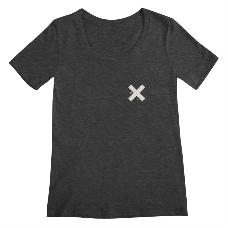 USE LESS X Women's Scoopneck by Variable Tees