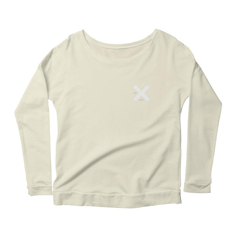 USE LESS X Women's Scoop Neck Longsleeve T-Shirt by Variable Tees