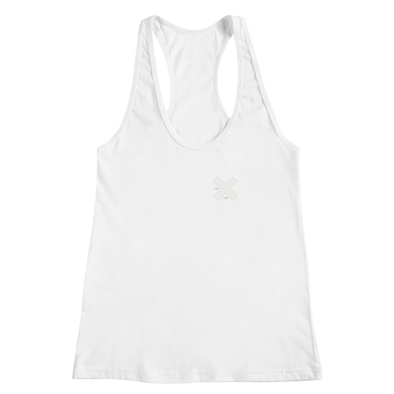USE LESS X Women's Racerback Tank by Variable Tees