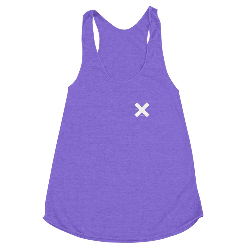 USE LESS X Women's Racerback Triblend Tank by Variable Tees