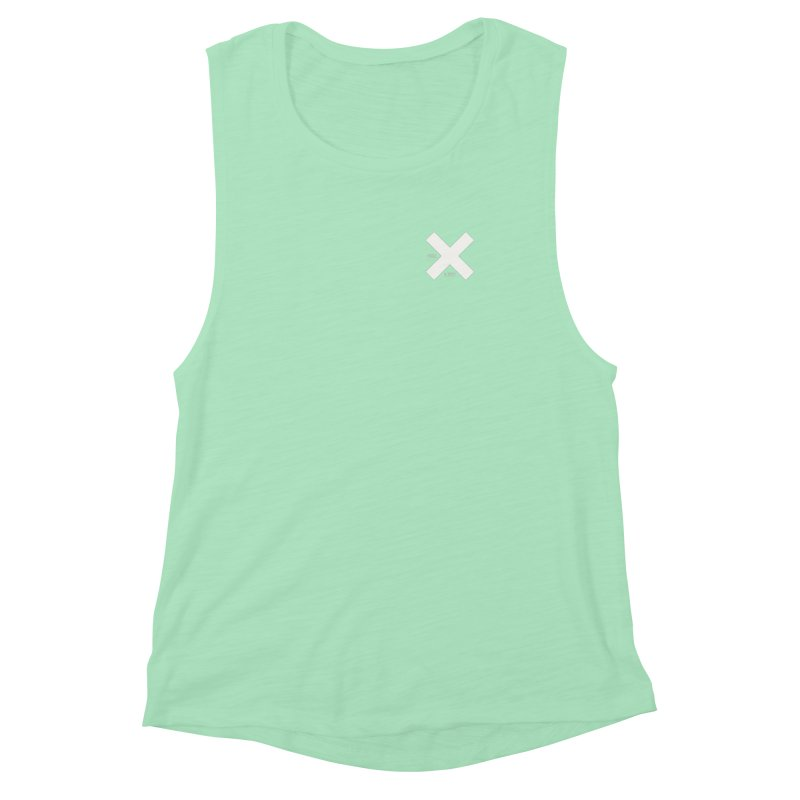 USE LESS X Women's Muscle Tank by Variable Tees
