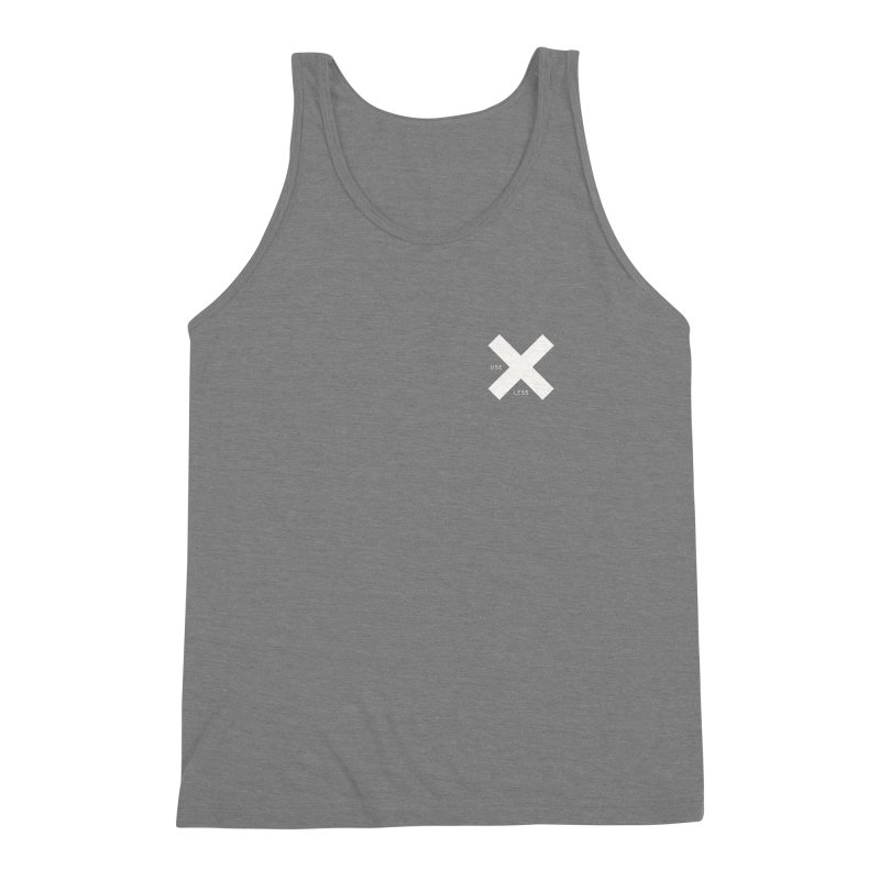 USE LESS X Men's Triblend Tank by Variable Tees