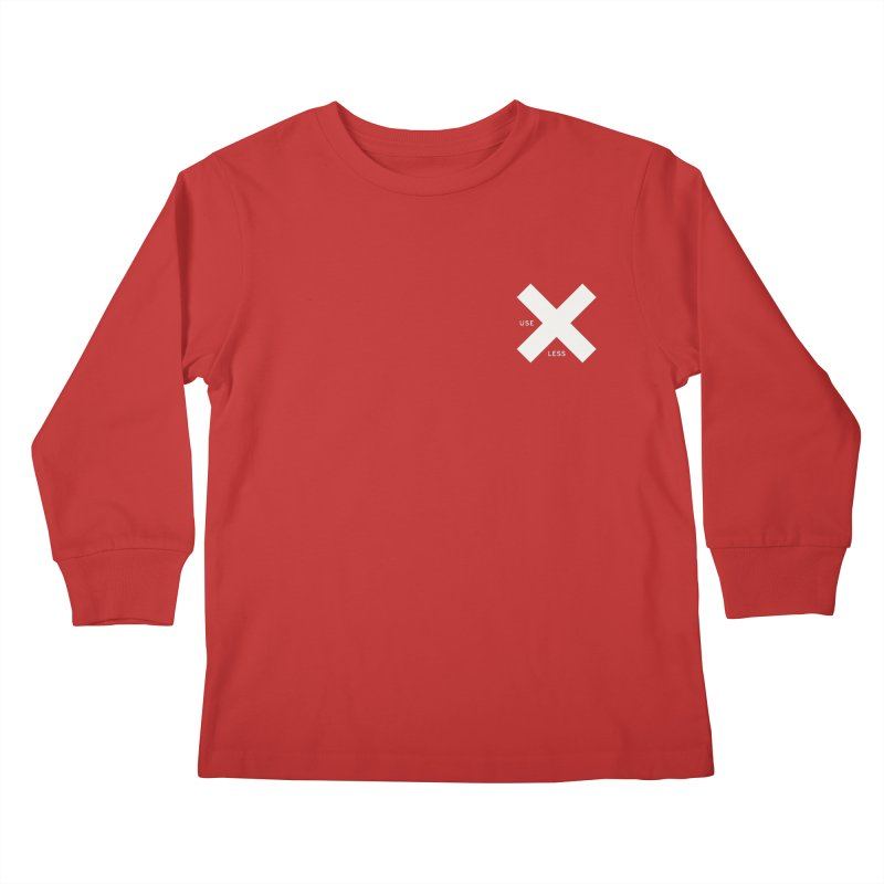 USE LESS X Kids Longsleeve T-Shirt by Variable Tees