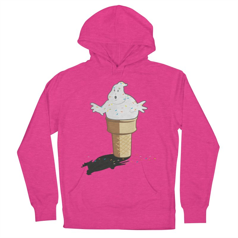 Ice Scream  Women's French Terry Pullover Hoody by VarieTeez Designs
