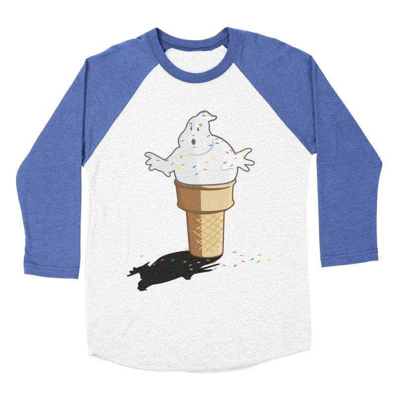 Ice Scream  Women's Baseball Triblend T-Shirt by VarieTeez Designs