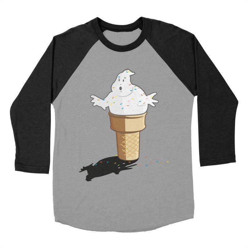 Ice Scream  Men's Baseball Triblend T-Shirt by VarieTeez's Artist Shop