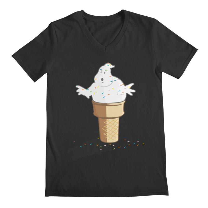Ice Scream  Men's Regular V-Neck by VarieTeez Designs
