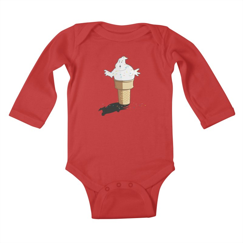 Ice Scream  Kids Baby Longsleeve Bodysuit by VarieTeez Designs