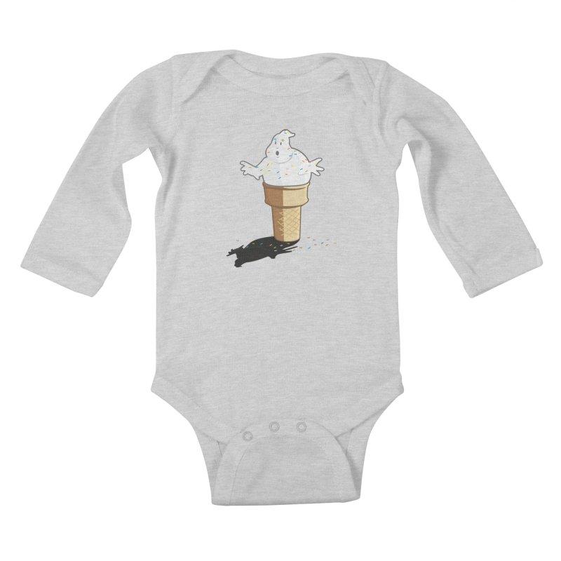 Ice Scream  Kids Baby Longsleeve Bodysuit by VarieTeez Designs