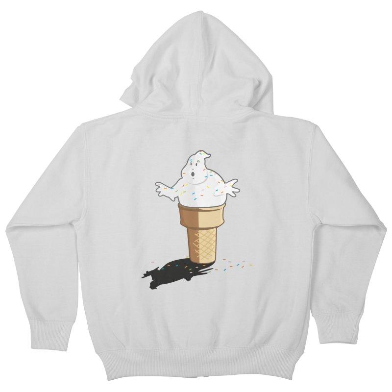 Ice Scream  Kids Zip-Up Hoody by VarieTeez Designs