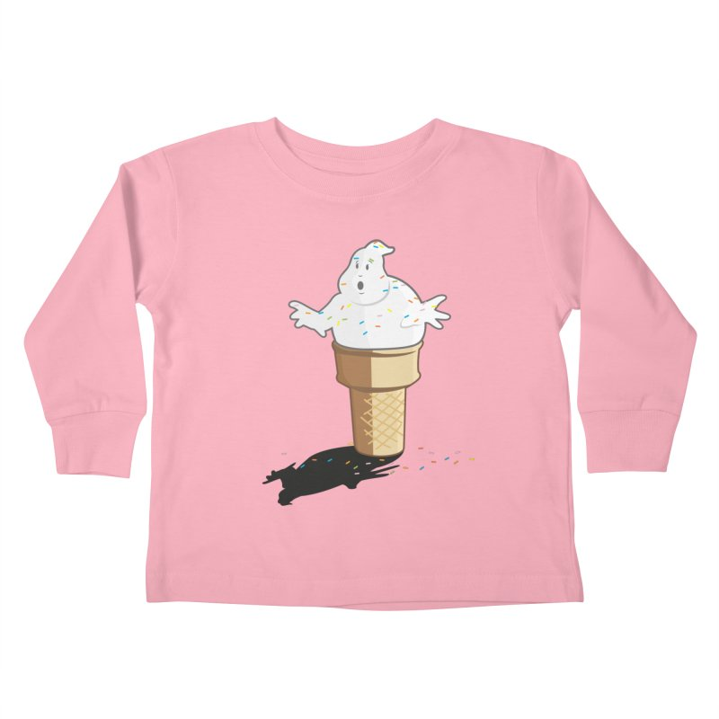 Ice Scream  Kids Toddler Longsleeve T-Shirt by VarieTeez Designs