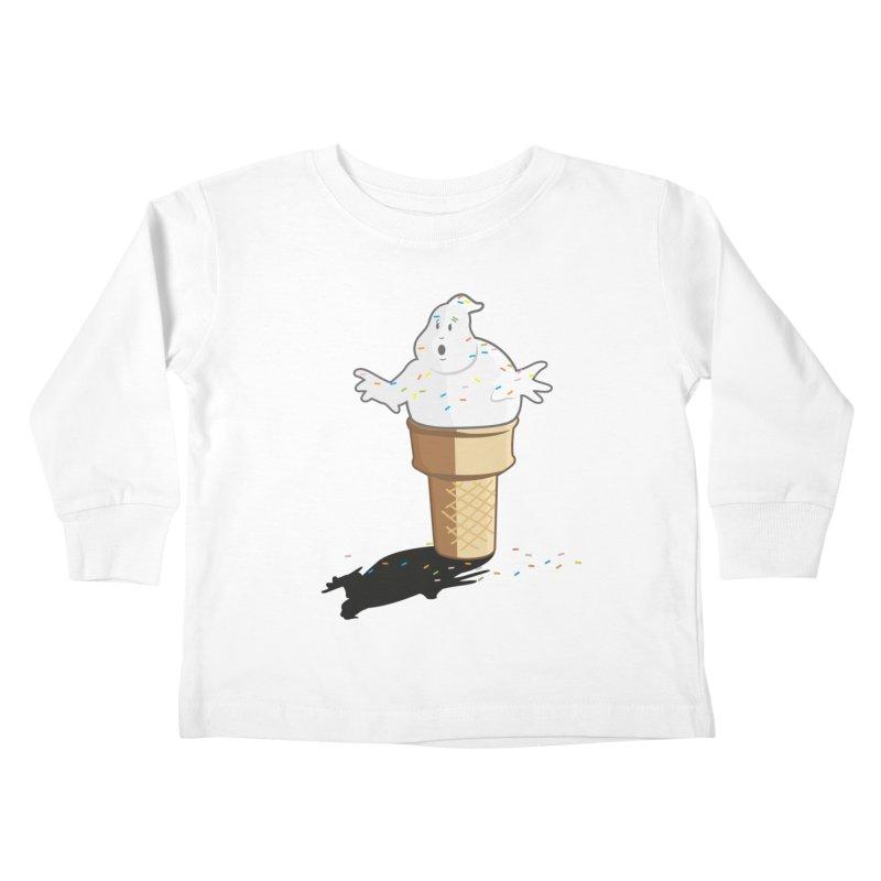 Ice Scream  Kids Toddler Longsleeve T-Shirt by VarieTeez Designs
