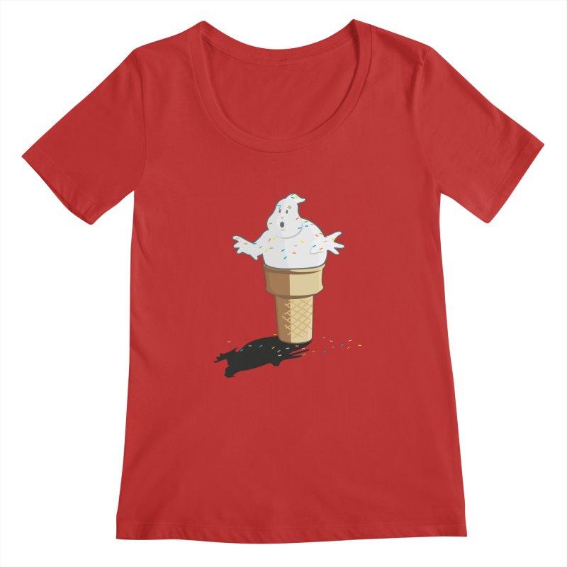 Ice Scream  Women's Regular Scoop Neck by VarieTeez Designs