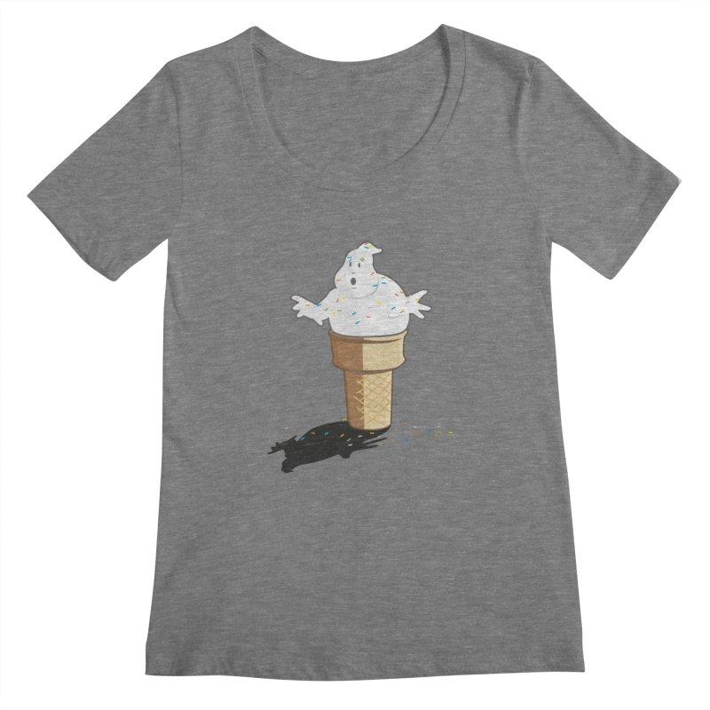 Ice Scream  Women's Scoopneck by VarieTeez Designs
