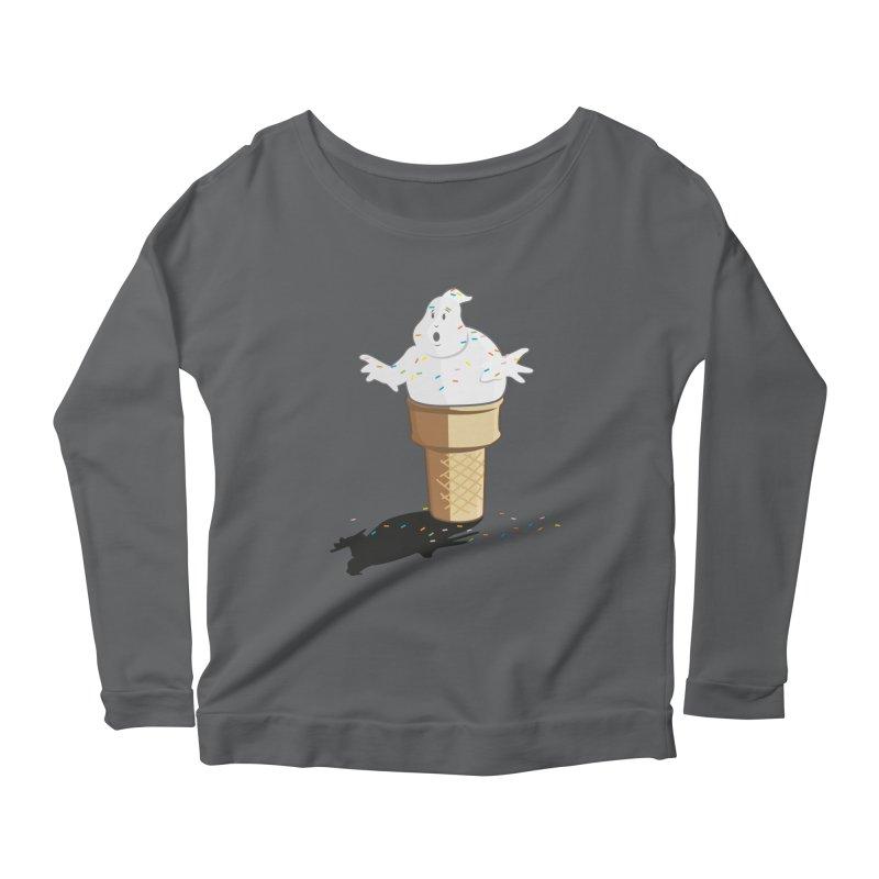 Ice Scream  Women's Longsleeve Scoopneck  by VarieTeez Designs