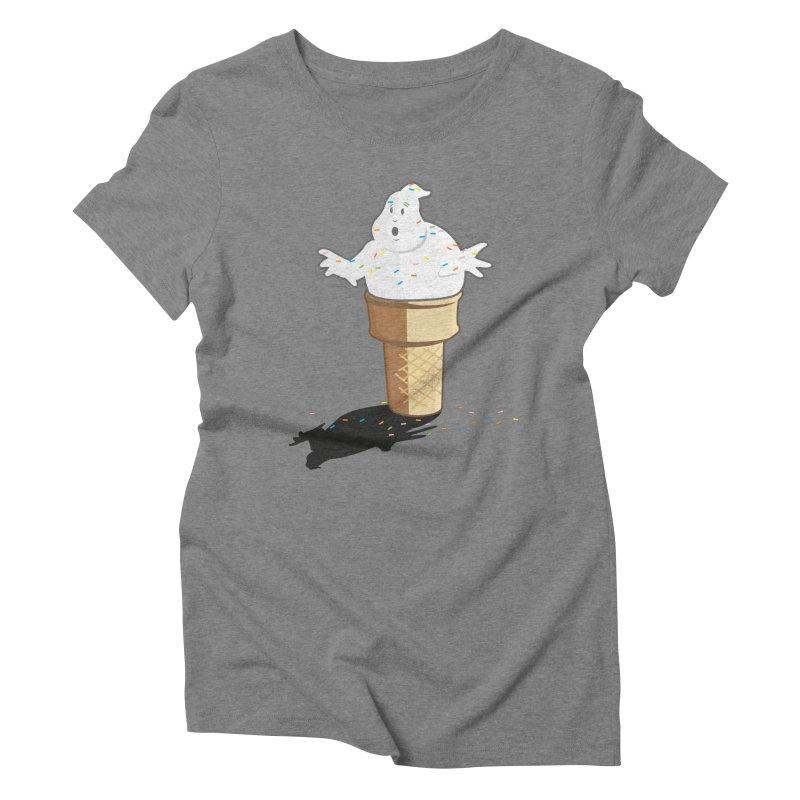 Ice Scream  Women's Triblend T-Shirt by VarieTeez Designs
