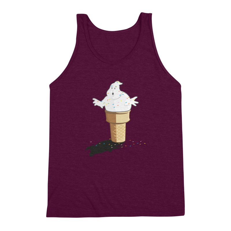Ice Scream  Men's Triblend Tank by VarieTeez's Artist Shop