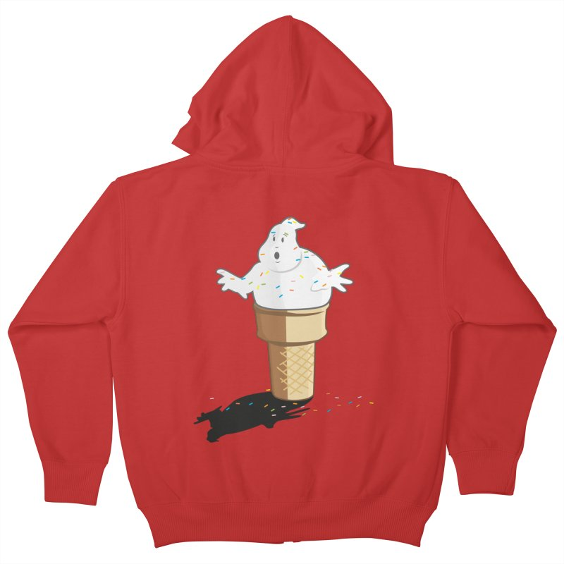 Ice Scream  Kids Zip-Up Hoody by VarieTeez Designs
