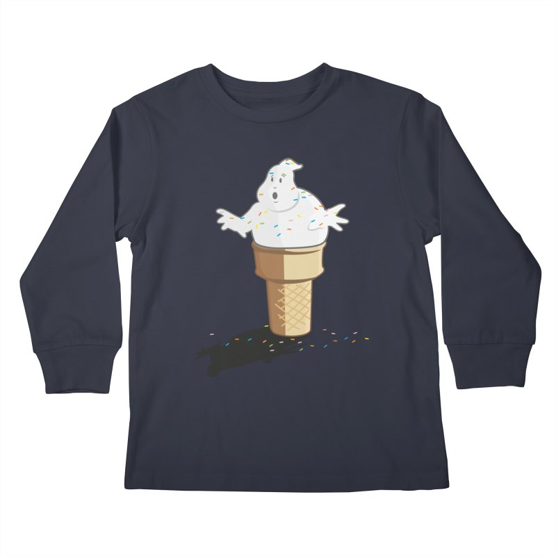 Ice Scream  Kids Longsleeve T-Shirt by VarieTeez Designs