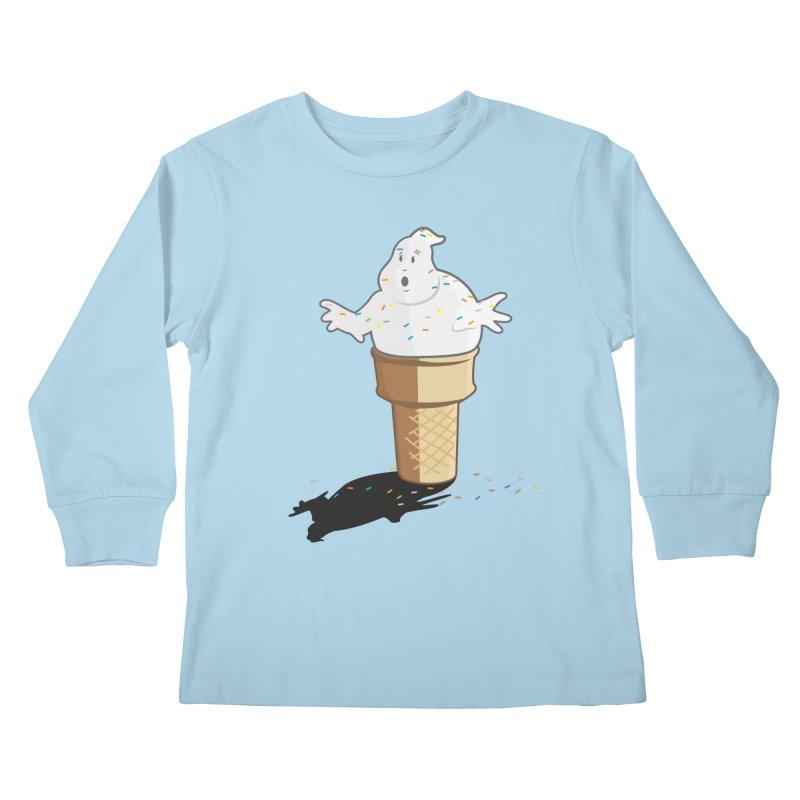 Ice Scream  Kids Longsleeve T-Shirt by VarieTeez Designs
