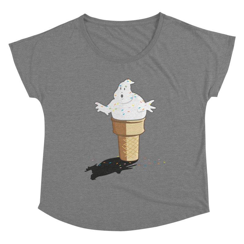 Ice Scream  Women's Scoop Neck by VarieTeez Designs