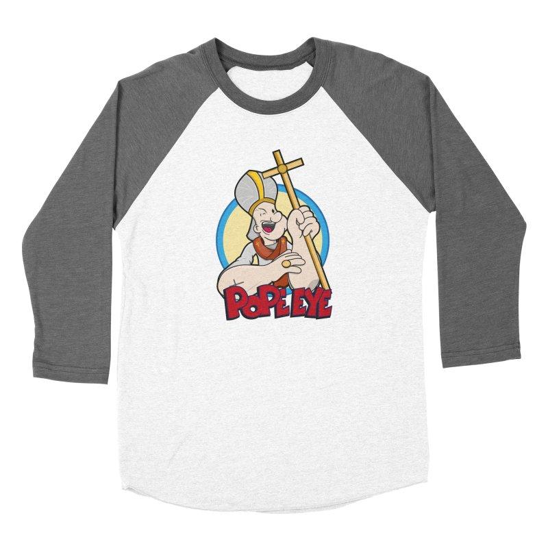Pope Eye Women's Longsleeve T-Shirt by VarieTeez Designs