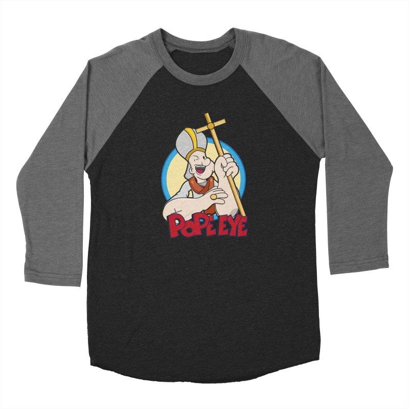 Pope Eye Men's Longsleeve T-Shirt by VarieTeez Designs