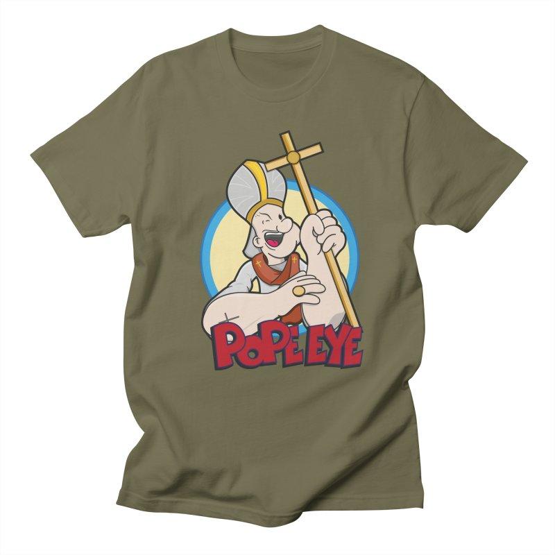 Pope Eye Men's T-Shirt by VarieTeez Designs
