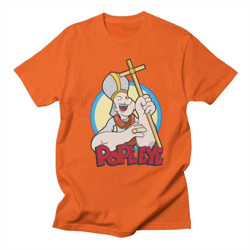 Pope Eye Men's Regular T-Shirt by VarieTeez Designs
