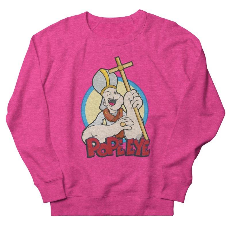 Pope Eye Men's Sweatshirt by VarieTeez Designs