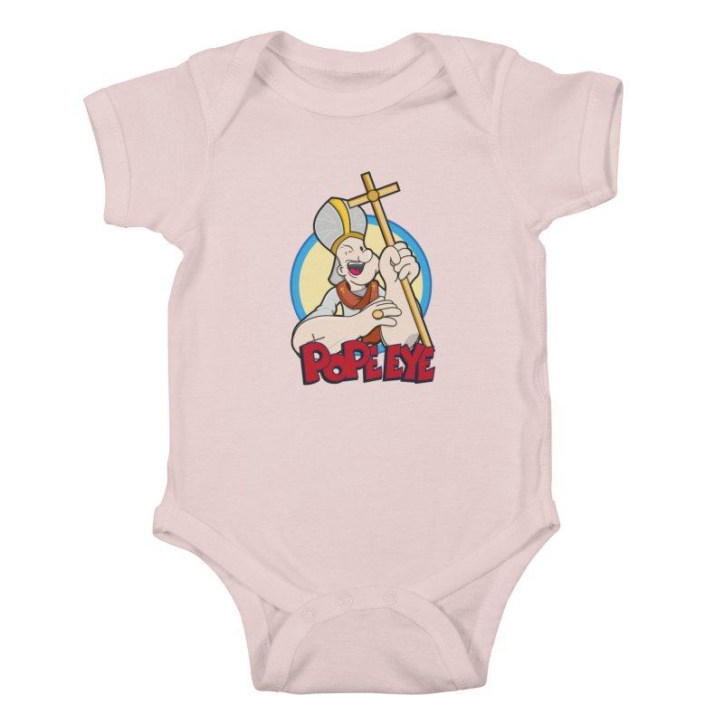 Pope Eye Kids Baby Bodysuit by VarieTeez Designs