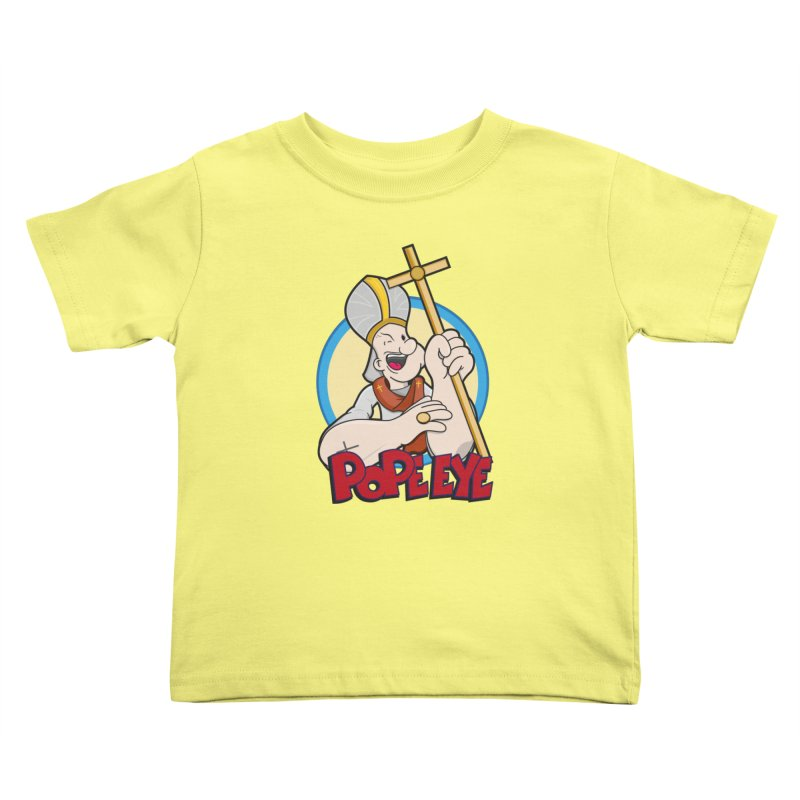Pope Eye Kids Toddler T-Shirt by VarieTeez Designs