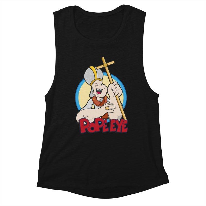 Pope Eye Women's Tank by VarieTeez Designs
