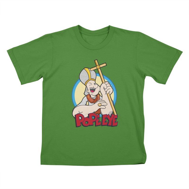 Pope Eye Kids T-shirt by VarieTeez's Artist Shop