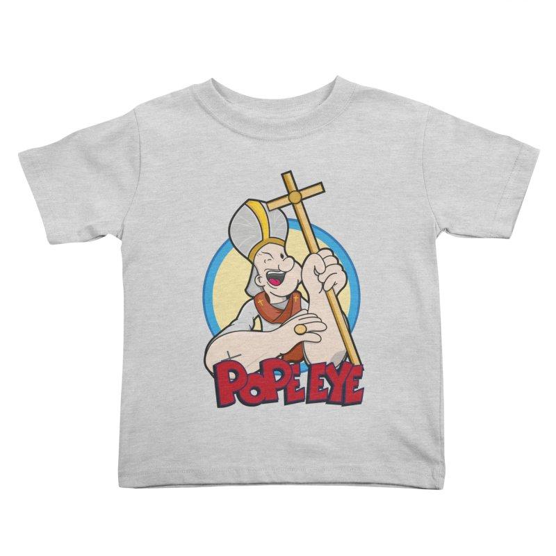 Pope Eye Kids Toddler T-Shirt by VarieTeez's Artist Shop