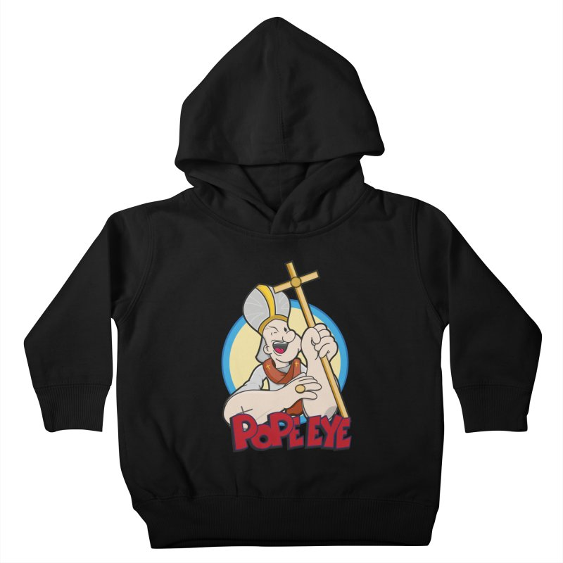 Pope Eye Kids Toddler Pullover Hoody by VarieTeez Designs