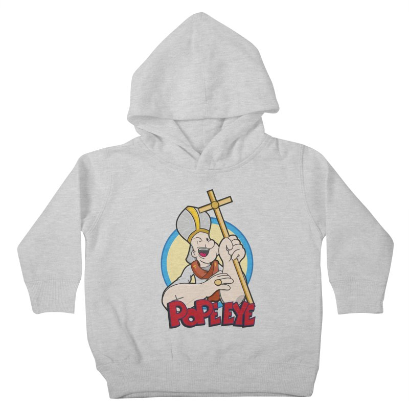 Pope Eye Kids Toddler Pullover Hoody by VarieTeez's Artist Shop