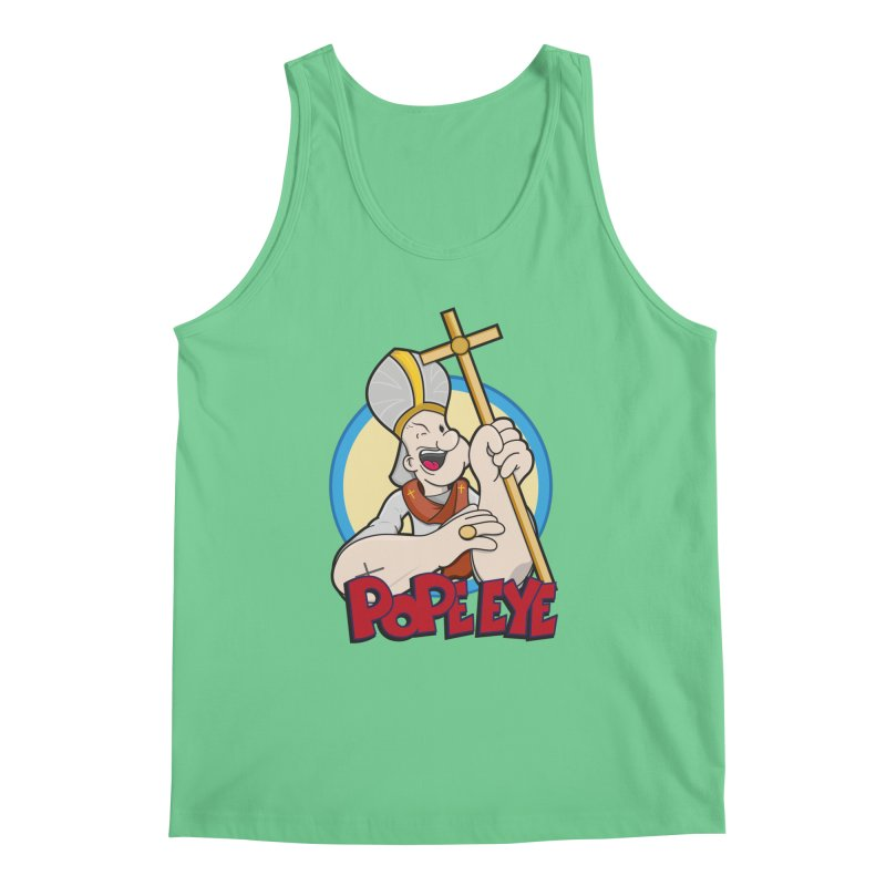 Pope Eye Men's Regular Tank by VarieTeez Designs