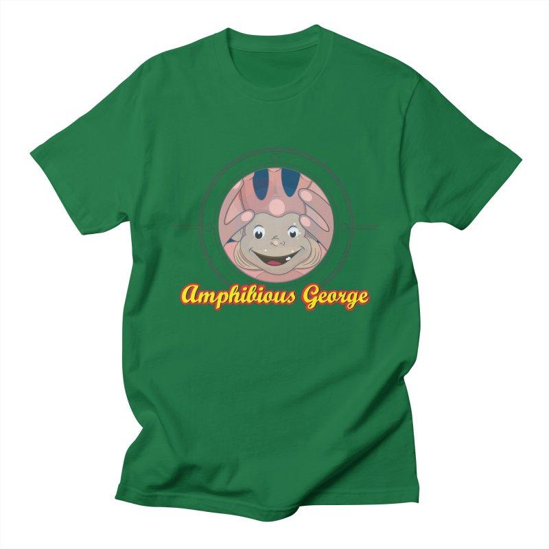 Amphibious George Men's Regular T-Shirt by VarieTeez Designs
