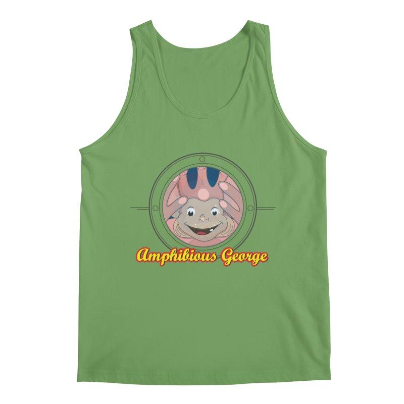 Amphibious George Men's Tank by VarieTeez Designs