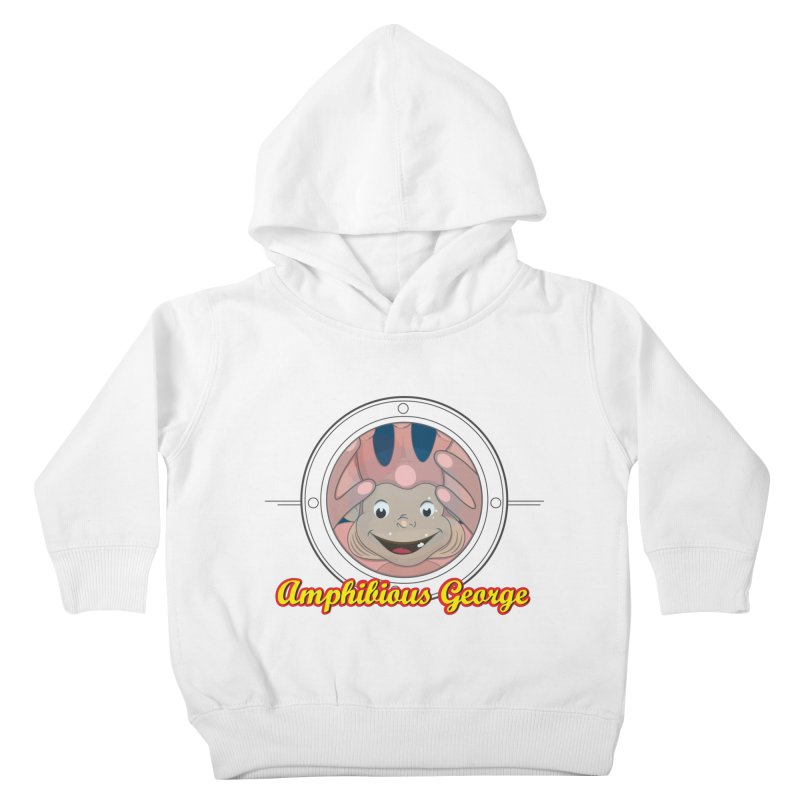 Amphibious George Kids Toddler Pullover Hoody by VarieTeez Designs
