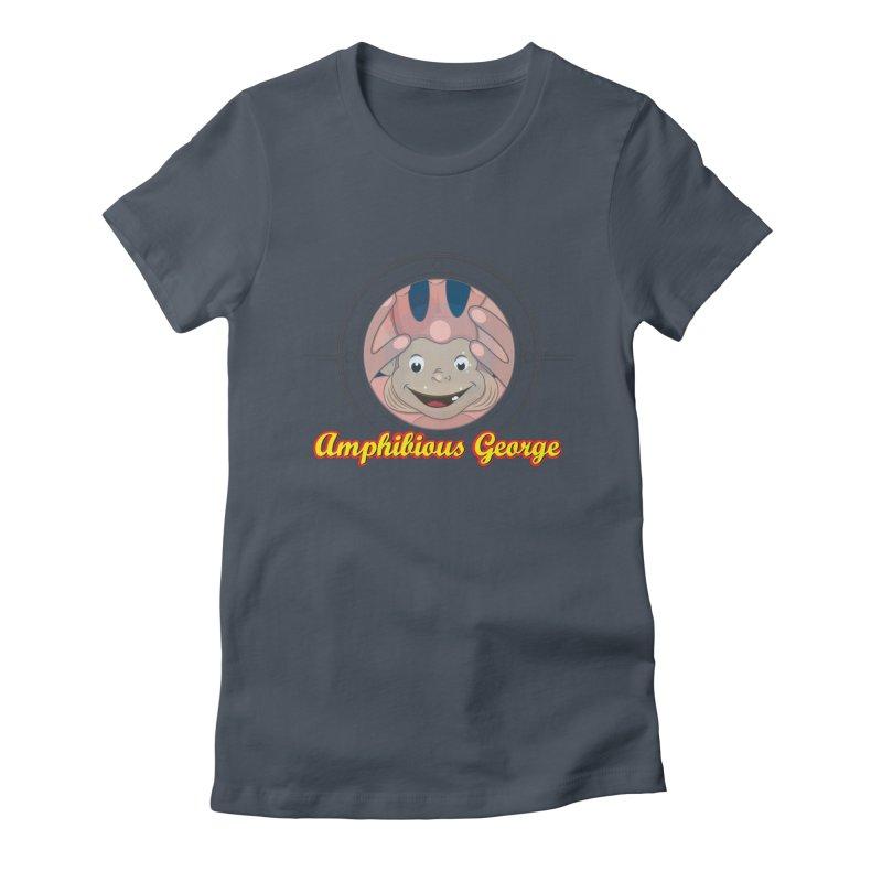 Amphibious George Women's T-Shirt by VarieTeez Designs