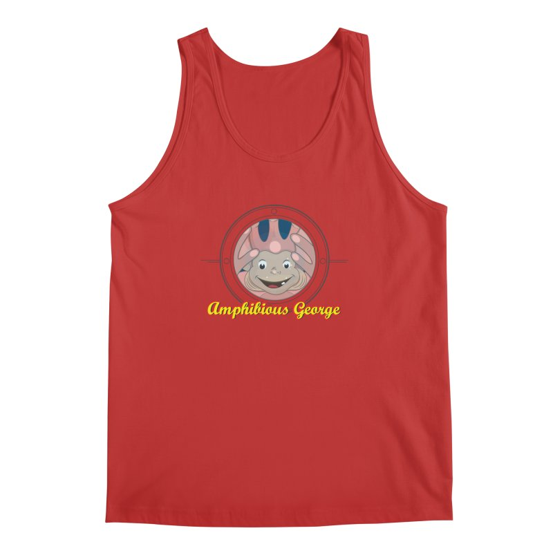 Amphibious George Men's Tank by VarieTeez Designs